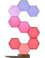 مجموعة اضواء لايف سمارت كولولايت برو يمكنك تركيبها بنفسك مع قاعدة، 9 قطع