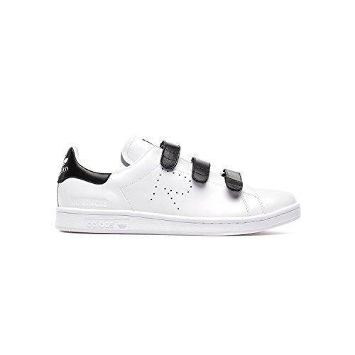Adidas Man Raf Simons Stan Smith Komfort Vit / Svart Bb2682