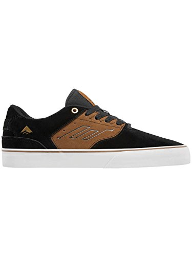 Emerica The Reynolds Low Vulc Gum - Zapatillas de skate Hombre Black/Tan