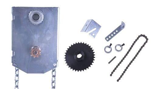 "Garage Door Chain Hoist - Jr JackShaft 1"" Shaft"