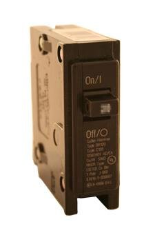 Eaton Cutler-Hammer Single-Pole BR Type Circuit Breaker, 20-Amp, 120/240-Volt