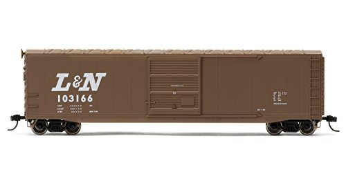 Nashville Train Set - Rivarossi 103166 Louisville & Nashville Railrooad Box Car with Sliding Door (HO Scale)