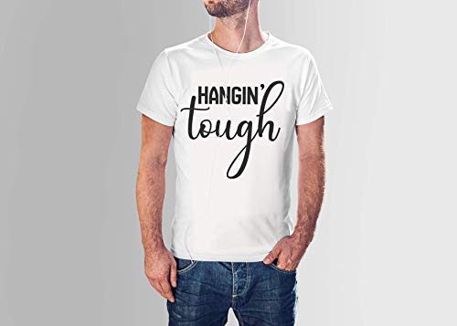 Hangin Touch boy Band Unisex T-Shirt (S, White) ()