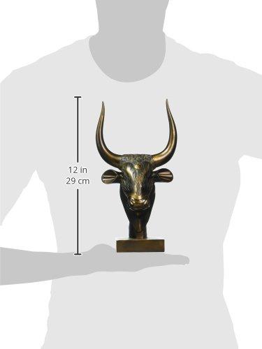 Oro 9x16.5x26.5 cm Design Toscano QL161311 Statua Api Il Toro Dio Egizio della Forza
