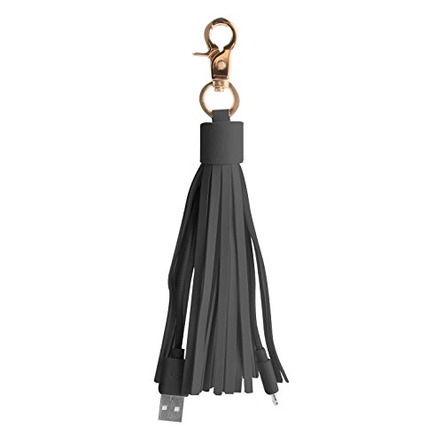 Altec Lansing Black Computer Speaker - Altec Lansing AMA10014 Android Cable Charger USB Tassel Key Chain (Gray)