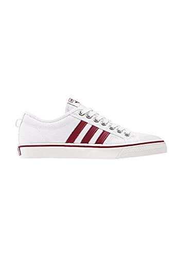 adidas Originals Sneaker Nizza CQ2328 Weiß Rot, Schuhgröße:45 1/3