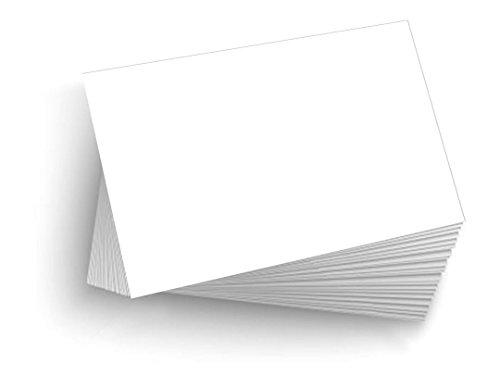 "50 Blank 5""x7"" Heavy Duty 14pt Index Cards, Postcards"