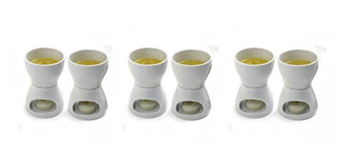Norpro Porcelain Butter Warmer, Set of 6 (Item 213)