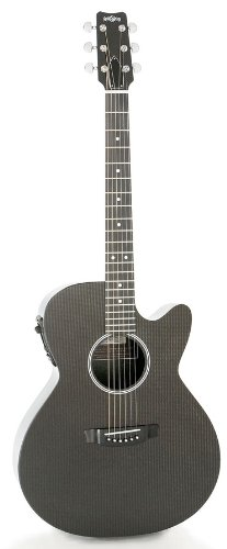 RainSong Hybrid Series H-WS1000N2 Deep Body cutaway acoustic electric with N2 neck