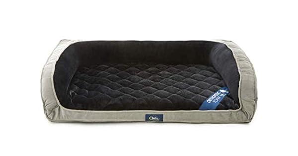 Amazon.com: Serta Deluxe Ortopédica sofá cama para perro ...