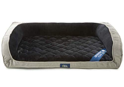 Serta Deluxe Orthopedic Couch Dog Bed LARGE