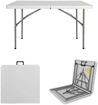 Mesa plegable Mesa de Comedor de jardín Hogar al Aire Libre Puesto Mesa y Silla multifunción portátil (Color : C): Amazon.es: Electrónica
