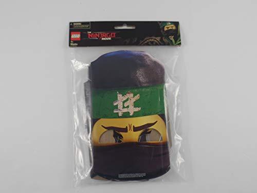 The Ninjago Movie - Party Masks - 8 pieces - 4 designs, 2 of each design - Lightweight cardboard - Bonus Ninjago Banner