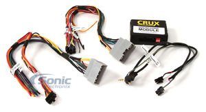 Crux SWRCR-59 Install an Aftermarket Radio in Select 2004-2013 Chrysler, Dodge & Jeep Vehicles and Retain Steering Wheel Controls by Crux