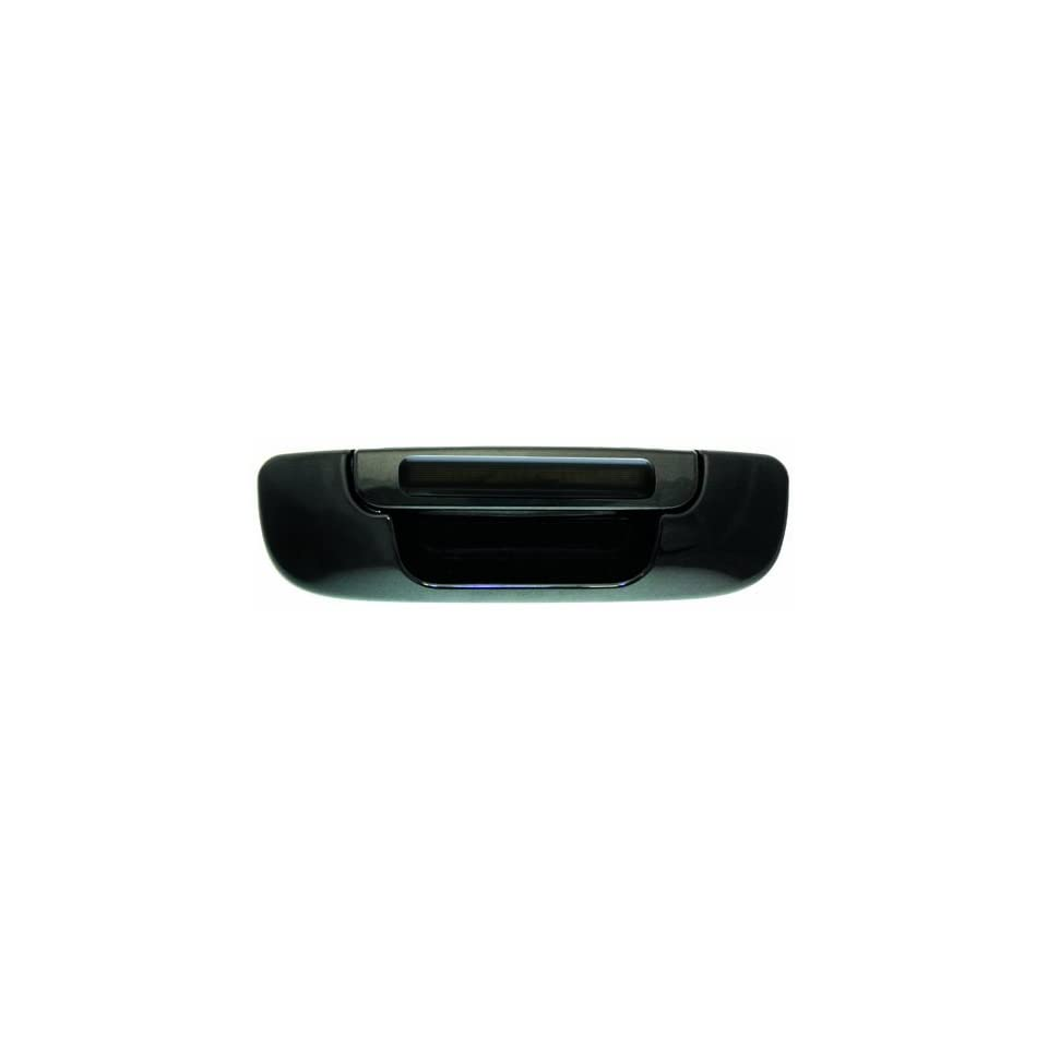IPCW DLR02BT Dodge RAM Pickup Black Tailgate Handle with Red LED and Smoke Lens
