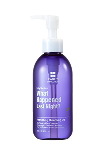 Leaders Daily Wonders What Happened Last Night? Refreshing Cleansing Oil