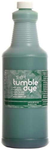 Sew Easy Industries Tumble-Dye Bottle, 1-Quart, Sports Green by Sew Easy Industries