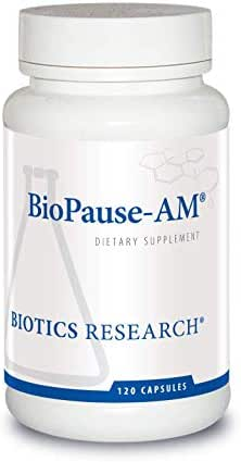 Biotics Research BioPause-AM ® – Menopausal Support. Women's Health. Superior Quality Herbal Blend to Support Natural Hormonal Balance. Rhodiola, Black Cohosh, Motherwort, Chaste Tree 120 Caps
