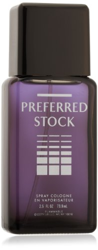 Stetson Preferred Stock Cologne Spray for Men by Stetson 2.5 Fluid Ounce Spray Bottle A Sophisticated Blend of Sandalwood, Vetiver & (Stock Mens Cologne)
