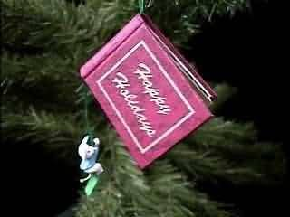 Hallmark Keepsake Ornament Happy Holidays Photo Holder 1995