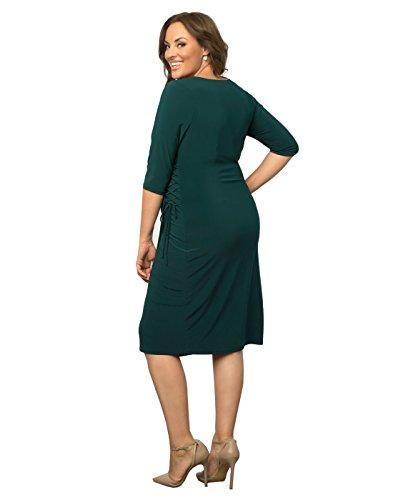 c37212c6272 Kiyonna Women s Plus Size Vixen Cocktail Dress