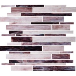 Dazzle Mosaic Stained Glass Tile 12 in. x 12 in. x 3 mm Glass Floor and Wall Tile Stained glass for Kitchen Backsplashes, Bathroom Walls, Spas, Pools by Dazzle Mosaic (10 Pack) by Dazzle Mosaic (Image #1)