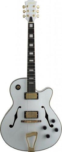 dean acoustic guitar white - 2