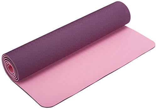 Cheap DynActive Yoga Mat 1/4″ (7mm) Thick Premium Non Slip Eco-Friendly with Carry Strap- 100% TPE Material The Latest Technology in Yoga- High Density Memory Foam- Non Toxic, Latex Free, PVC Free