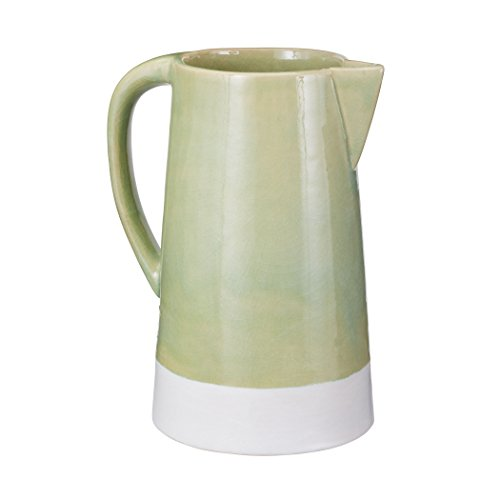 Manhattan Collection Spring Crackle Pitcher