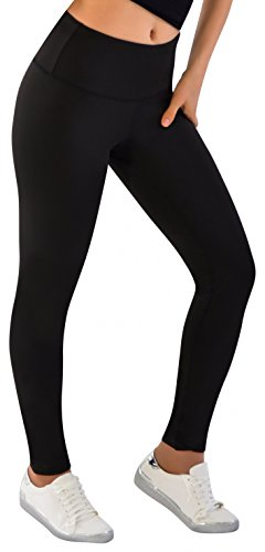 CLANEC Womens Leggings Hidden Regular