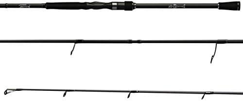 G-Rods Pro Salmón medio pesado, 2 spinning caña de pescar, Negro ...