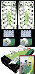 Back and Forth Package – 24 BirdieBalls/2 Strike Pads Golf Trainin, Outdoor Stuffs