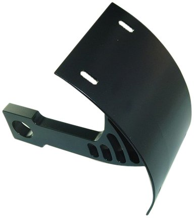 - Yana Shiki YS2549024 Black Swing Arm Mount License Plate Tag Bracket Kawasaki ZX-6R/RR (636), ZX-7R, ZX-9R, ZX-12R, ZX-14R
