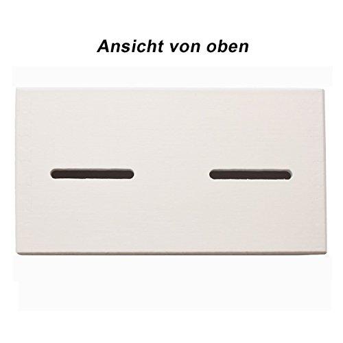 Lustige Spardose Sparen Saufen Aus Holz In Weiss Geld Rutscht