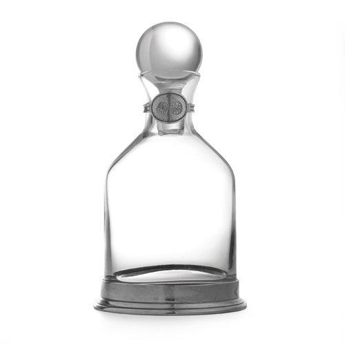 Arte Italica Taverna Round Decanter, Large, Clear by Arte Italica