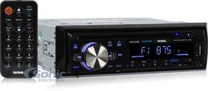 Sound Storm Laboratories SDC26B Soundstorm Single Din Indash CD Receiver by Sound Storm Laboratories