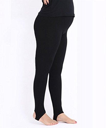 ZZLAY Damen Plus Size Sommer Breathable Full Length Leggings Hosen