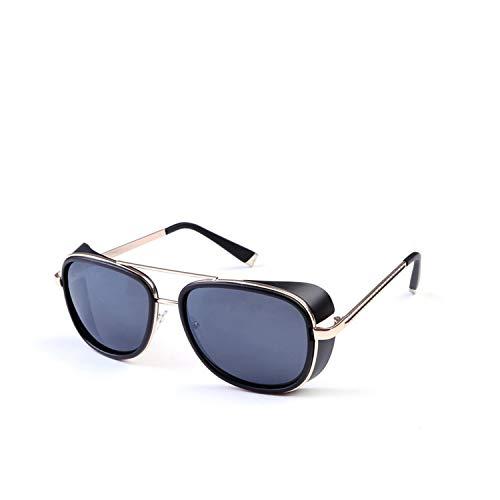 Sun glasses Iron Man 3 actor wind sunglasses for men women Brand design lunette de soleil feminino gothic steampunk SI21,8 (Sunglasses Review Ironman)