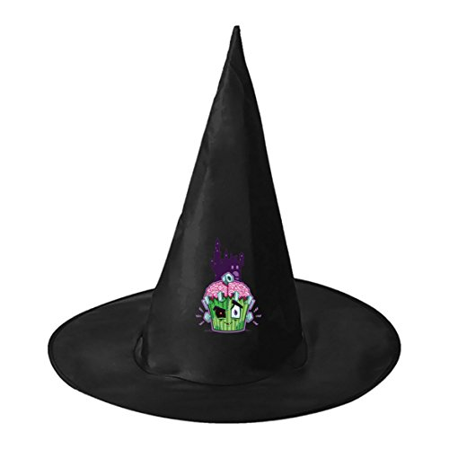 SeSHU Castle Cake Halloween Fashion Magic Witch Cap for Children Adult