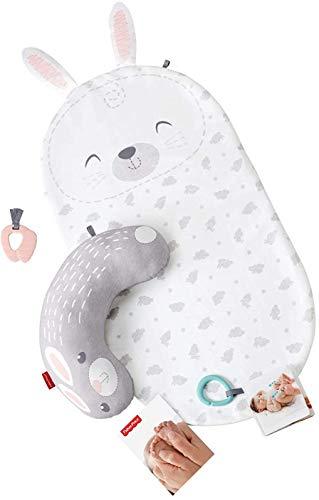 Newborn Tummy Time Playmat Fisher-Price Baby Bunny Massage Set