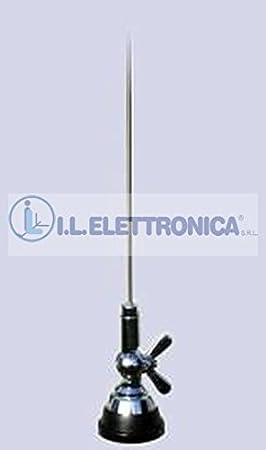 Sirio SMA 108-550S 1/4 WHF antena de vehículo 249004: Amazon ...