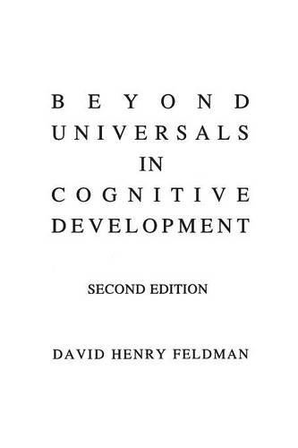Beyond Universals in Cognitive Development, 2nd Edition