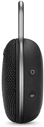 JBL CLIP 3 – Waterproof Portable Bluetooth Speaker – Black 311Ji MwogL