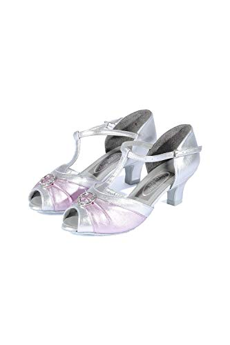 Freed Silver De Of Latine lilac Danse London Femme Chaussures Bax7Bqf