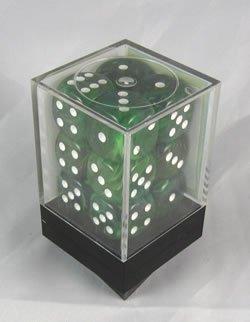 【超歓迎】 Ice Green Swirl Deluxe Dice D6 Swirl 16mm B0037UKUDC 12 Dice Dice B0037UKUDC, 静岡市:4133aded --- cliente.opweb0005.servidorwebfacil.com