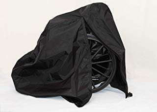 (Diestco Manual Wheelchair Cover Accessory Durable Black Lightweight Nylon)