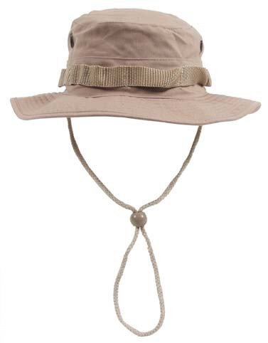 Boonie Hat Chapeau Brousse Jungle US Army Commando Trooper - Coloris Desert Coyote - Taille XLarge - Airsoft - Paintball - Chasse - Pêche - Randonnée - Outdoor