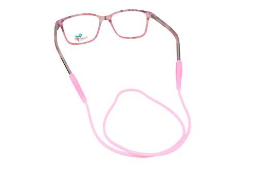 Eyeglasses holders with flat tip | Anti Slip Adjustable Rubber Elastic Strap for Glasses | Eyeglasses Accessories for Men Women and Kids - Eyeglasses Color