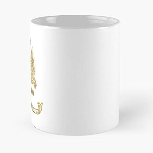 Gold Golden Medal Coat Of Arms -funny Present For My Greatest Boss Male Or Female, Men, Women, Great Office Gift Mugs, Birthday, Leaving, Bold, Cup, 11 Oz