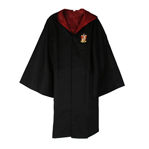 Harry Potter Kostum Junger Erwachsene Gryffindor Slytherin Ravenclaw Hufflepuff Adult Child Unisex Schule lange Umhang Mantel Robe